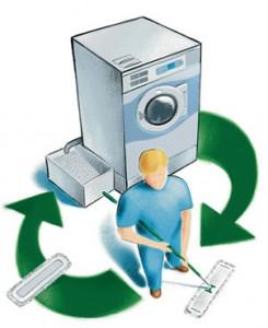mop wassen