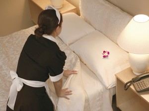 hotel housekeepingwas